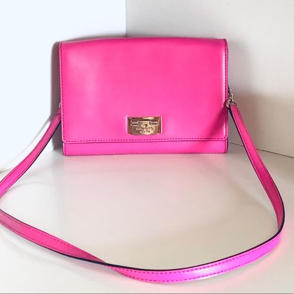 kate spade Handbags - Kate Spade Pink Shoulder Bag / Clutch